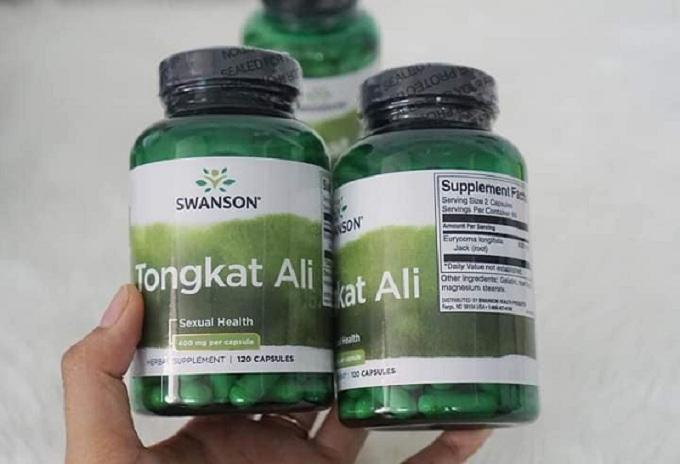 Tongkat Ali Malaysia Swanson Passion 400mg mẫu mới 3