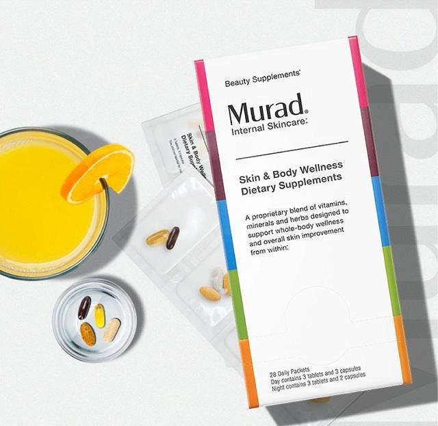 Viên uống tổng thể Murad Firm And Tone mẫu mới 8