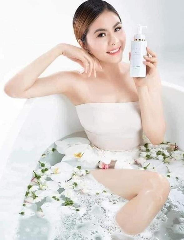 Sữa tắm trắng Peptide Cochon review từ khách hàng 8