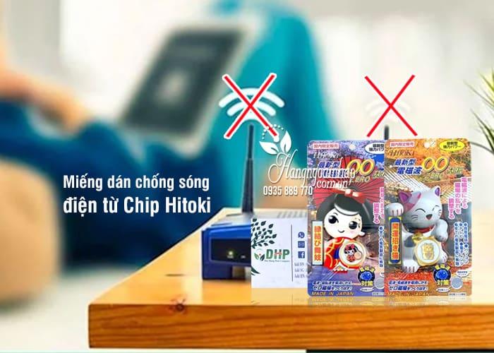Miếng chip Hitoki triệt sóng điện từ, bảo vệ não 1