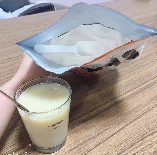 Sữa tăng cân cho người gầy của Nhật Savas Meiji 1260g 5