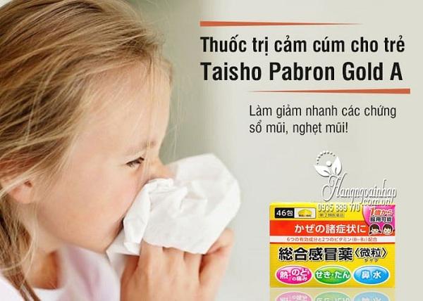 Thuốc cảm cúm Taisho Pabron Gold A có tốt không? 3