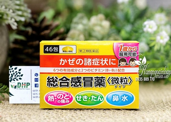 Thuốc cảm cúm Taisho Pabron Gold A có tốt không? 1