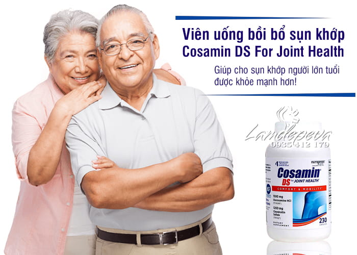 Cosamin DS For Joint Health 230 Capsules cao cấp của Mỹ 3