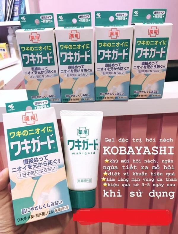 Gel trị hôi nách Nhật Bản Kobayashi tuýp 50g hot nhất 2020 1