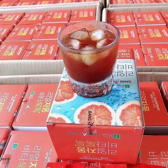 Giảm cân bưởi đỏ Sanga Real Grapefruit Vita Tok Tok 9