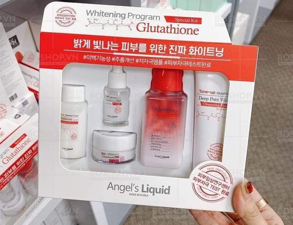 Set dưỡng trắng Glutathione 5 món Angel's Liquid Hàn Quốc 8