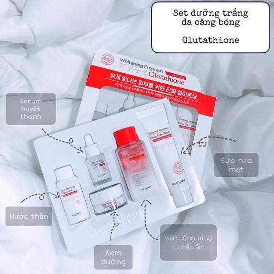 Set dưỡng trắng Glutathione 5 món Angel's Liquid Hàn Quốc 3