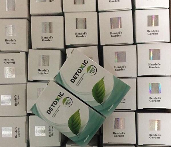 Thuốc Detoxic diệt ký sinh trùng - Mua 2 hộp tặng 1 hộp 8