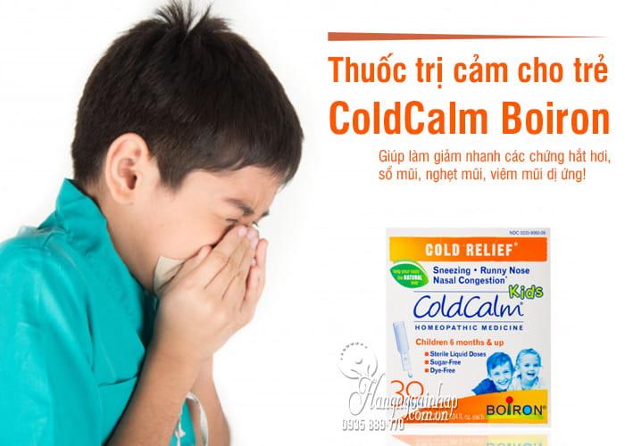 Thuốc ho cảm ColdCalm Boiron cho trẻ em, bán chạy tại Mỹ 8