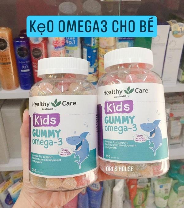 Kẹo dẻo bổ sung Omega 3 cho bé Gummy Omega 3 Úc Healthy 1