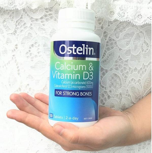 Ostelin Calcium & Vitamin D3 Úc - Canxi cho bà bầu 1
