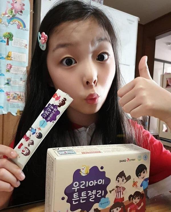 Thạch hồng sâm cho trẻ em Sanga Hàn Quốc, cho bé biếng ăn 5