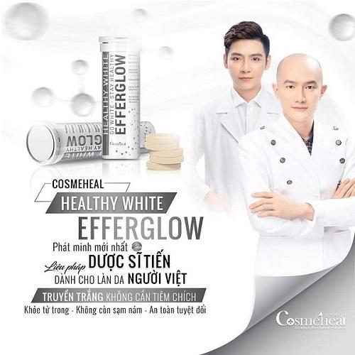 Viên sủi trắng da Healthy White Efferglow 30 viên Hàn Quốc 3