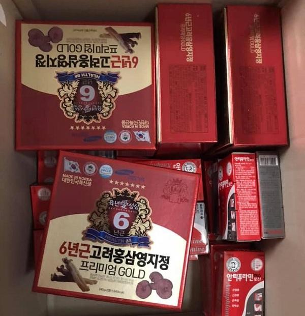Cao hồng sâm linh chi Taewoong 2 lọ x 240g Hàn Quốc giá tốt 00