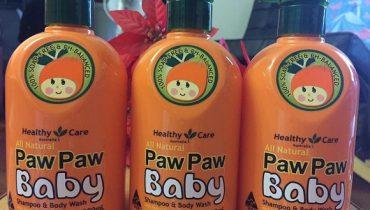 Review sữa tắm Paw Paw cho bé chai 500ml của Úc