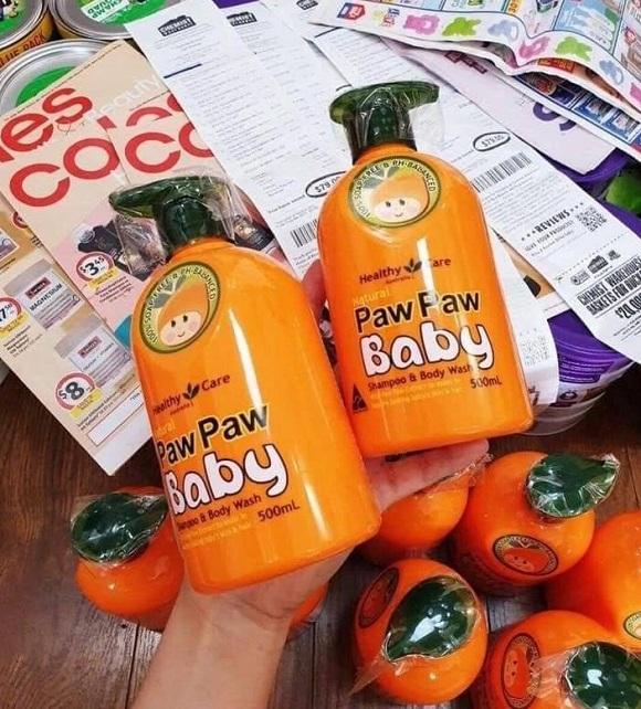 Review sữa tắm Paw Paw cho bé chai 500ml của Úc 8