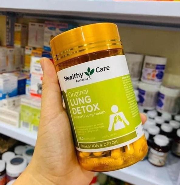 Lung Detox của Úc - Viên uống giải độc phổi của Healthy Care Úc 4