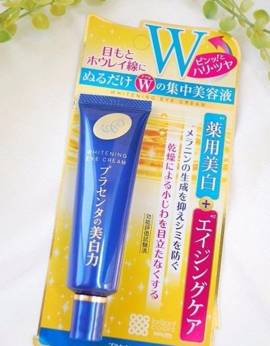 Kem dưỡng mắt Nhật Bản Meishoku Whitening Eye Cream 1