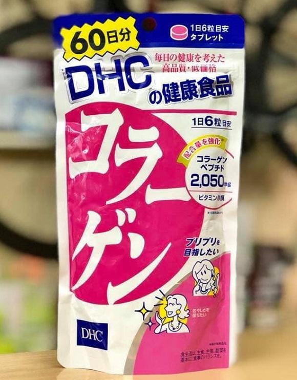 Collagen DHC Nhật Bản 360 viên, 60 ngày - Hàng xách tay 8