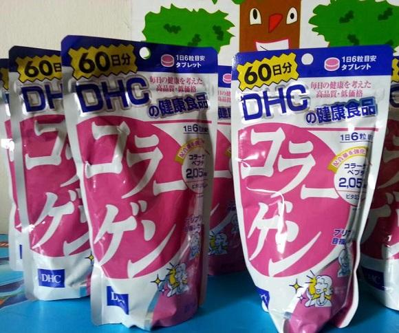 Collagen DHC Nhật Bản 360 viên, 60 ngày - Hàng xách tay 0