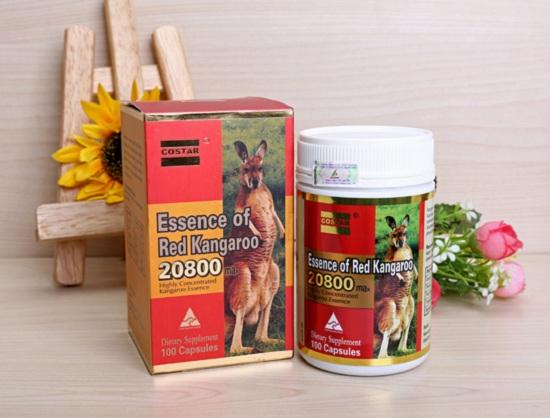 Essence of Red Kangaroo Úc 20800 tăng cường sinh lý 1