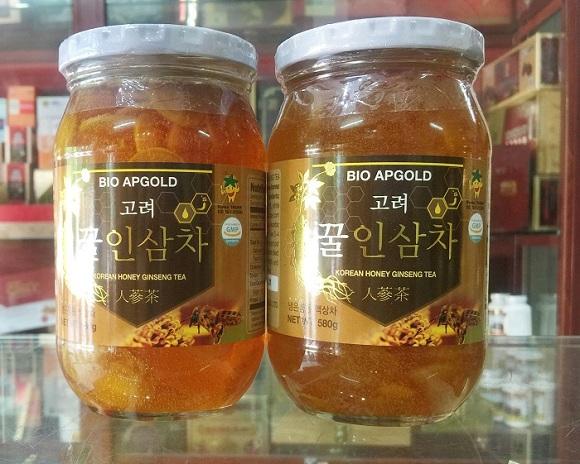 Nhân sâm tươi ngâm mật ong 580g Hàn Quốc Bio Apgold 7