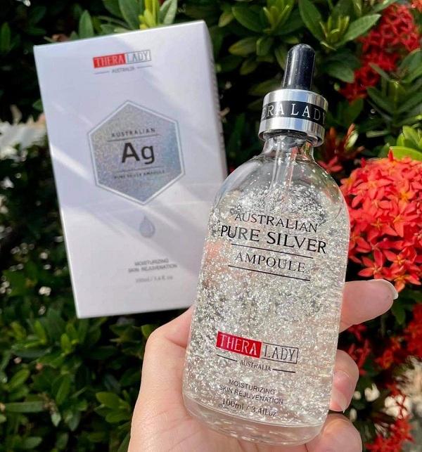 Serum bạc Australian Pure Silver Ampoule 100ml Úc giá đại lý 2