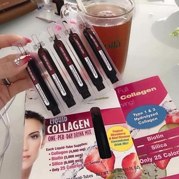 Cách dùng Liquid Collagen 30 ống hiệu quả nhất, thời điểm uống 9