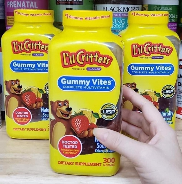 Kẹo dẻo vitamin Gummy Vites cho bé có tốt không?