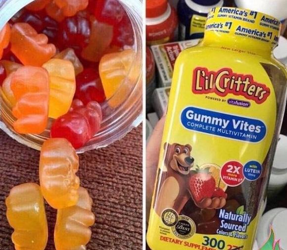Kẹo dẻo vitamin Gummy Vites cho bé có tốt không? 2