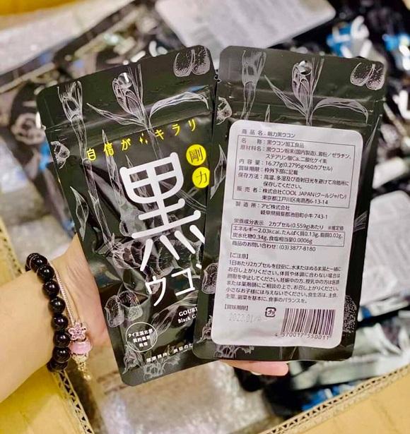 Mua viên nghệ đen Gouriki Nhật Bản ở đâu giá tốt? 2