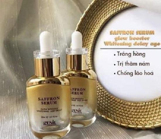 Serum Saffron Genie có tốt không? Phân tích hiệu quả 9