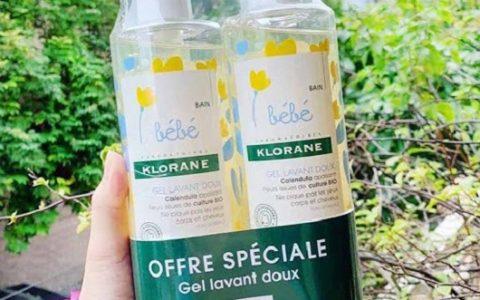 Sữa tắm Bebe Klorane có cay mắt bé không?