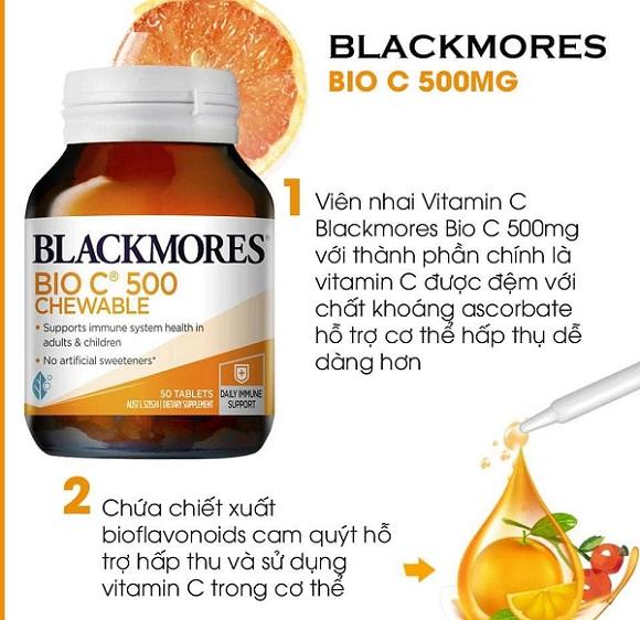 Mua Bio C 500 Chewable Blackmores ở đâu chính hãng? 3