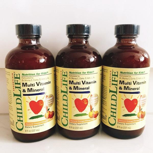 Cách sử dụng Multi Vitamin Childlife đúng chuẩn cho bé 5