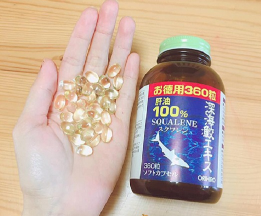 Cách sử dụng Squalene Orihiro 360 viên hiệu quả cao nhất 7