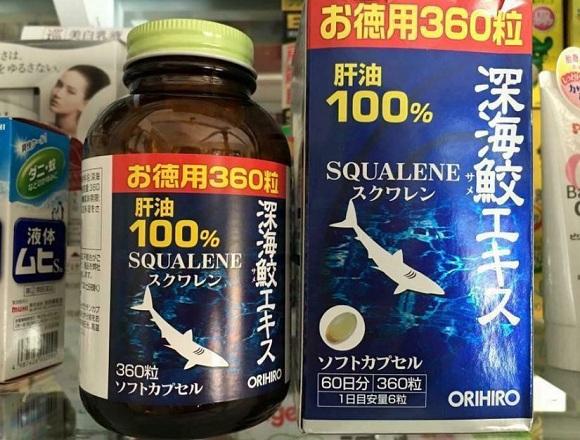 Cách sử dụng Squalene Orihiro 360 viên hiệu quả cao nhất