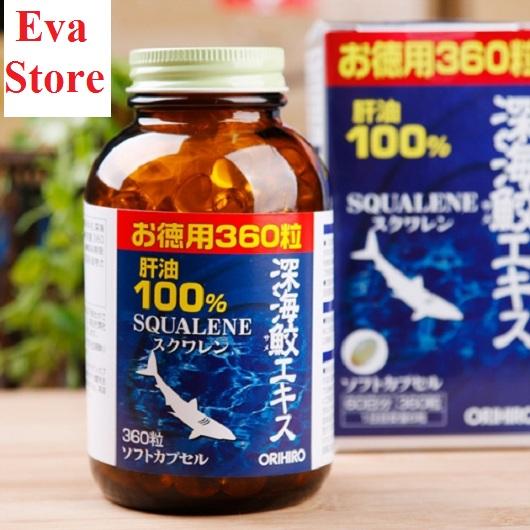 Cách sử dụng Squalene Orihiro 360 viên hiệu quả cao nhất 2