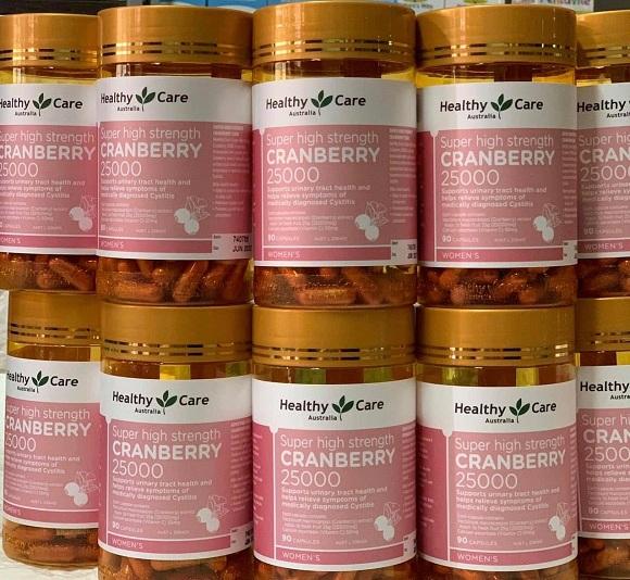 Healthy Care Cranberry 25000mg có tốt không? 9