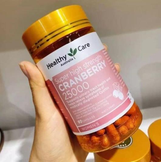 Healthy Care Cranberry 25000mg có tốt không? 1