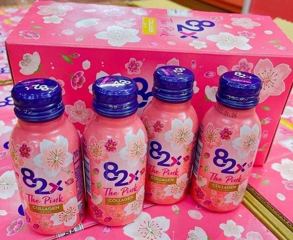 Liệu trình uống Collagen 82x The Pink trong bao lâu?