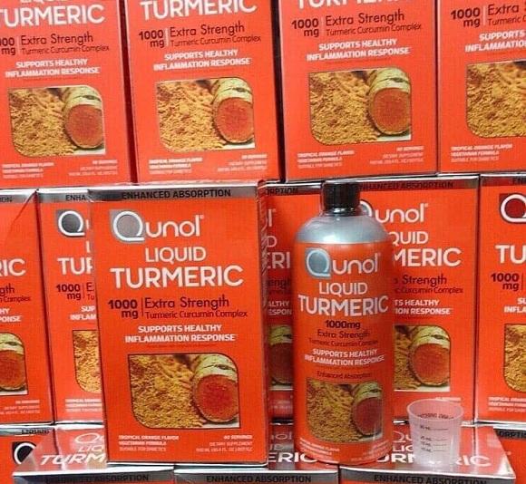 Qunol Liquid Turmeric 1000mg có tốt không? Có nên uống? 0