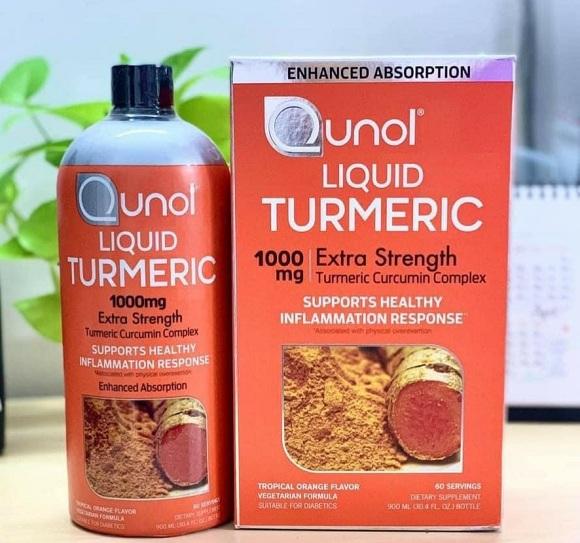 Qunol Liquid Turmeric 1000mg có tốt không? Có nên uống?