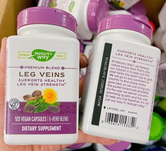 Leg Veins Nature's Way có tốt không? Phân tích chi tiết