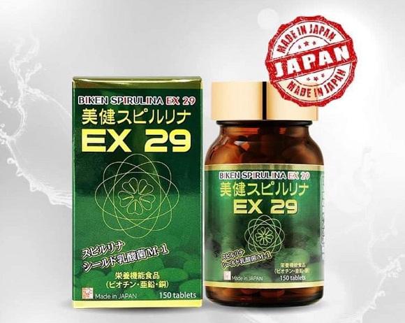 Cách sử dụng tảo xoắn Biken Spirulina EX 29 hiệu quả nhất