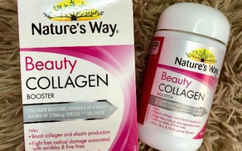 Nature's Way Beauty Collagen Booster review chi tiết