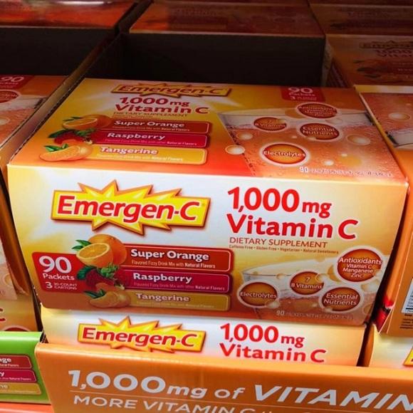 Cách dùng Emergen-C 1000mg Vitamin C tăng đề kháng 7