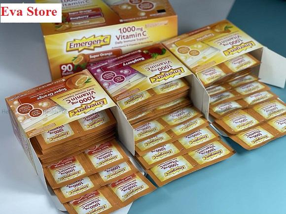 Cách dùng Emergen-C 1000mg Vitamin C tăng đề kháng 1