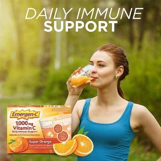 Cách dùng Emergen-C 1000mg Vitamin C tăng đề kháng 9